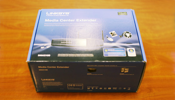 Media Center Extender Linksys DMA 2100